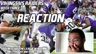 Vikings Vs Raiders (WK3) |Reaction