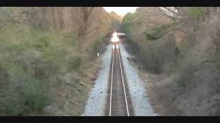 NS Westbound Run Under At Waverly, Al Top 10 Video