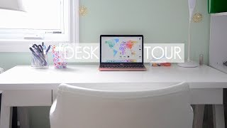 Desk Tour   studywithprogress