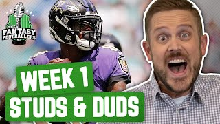 Fantasy Football 2019 - Week 1 Studs & Duds + AB Reactions, The Secret Garden - Ep. #770