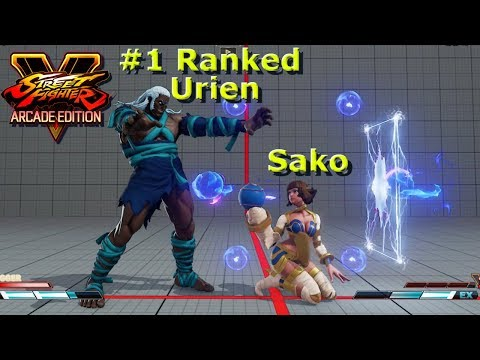 SFV AE - Sako VS The Highest Ranked Urien