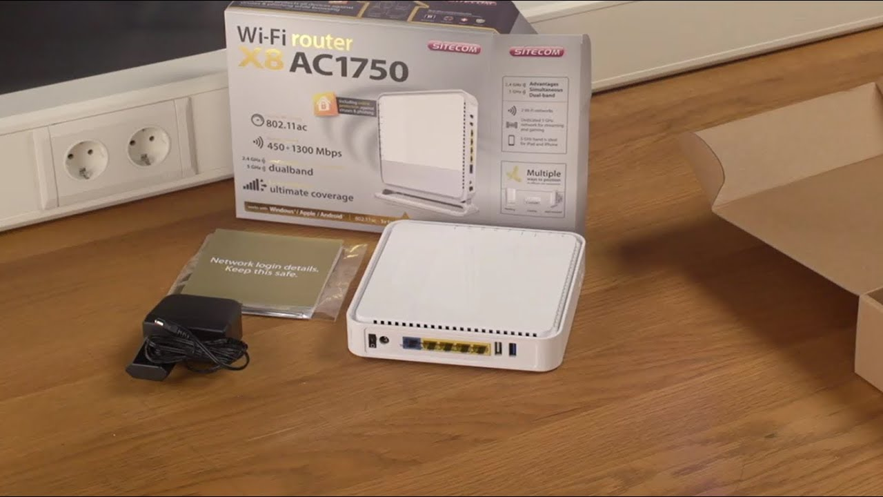 Sitecom WLR-6000 V1-001 Wi-Fi Router Driver for Windows Download
