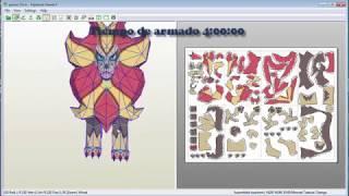 Pokemon Papercraft  Pyroar tutorial
