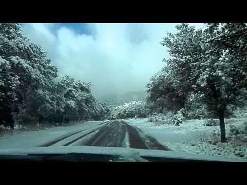 Driving up to Lower Garden Cannyon, Fort Huachuca, AZ