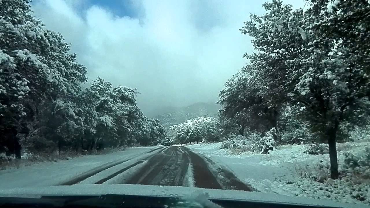 Driving Up To Lower Garden Cannyon Fort Huachuca Az