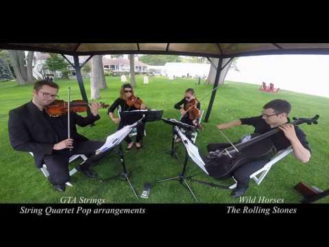 Wild Horses - String Quartet COVER - The Rolling Stones