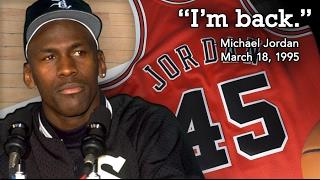 Michael Jordan Returns (1995 Comeback)
