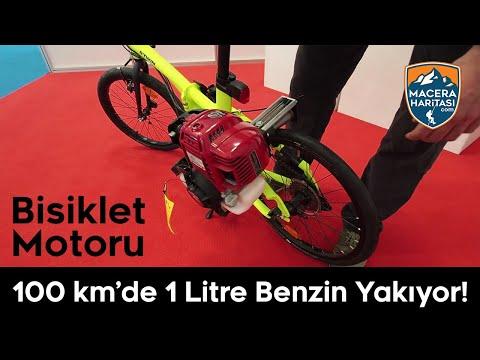 Bisiklete Benzin Motoru Takmak   DirectRunner DR1L