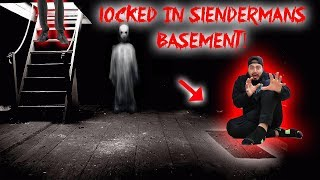 LOCKED IN SLENDER MANS BASEMENT! (GONE WRONG) | MOE SARGI