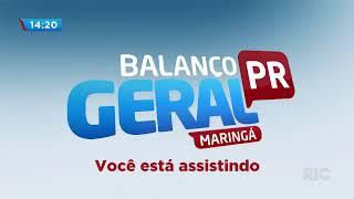 Balanço Geral Maringá Ao Vivo | 19/02/2020