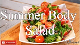 Summer Body And Lose Weight With Healthy Salad  | Chef Ricardo Cooking