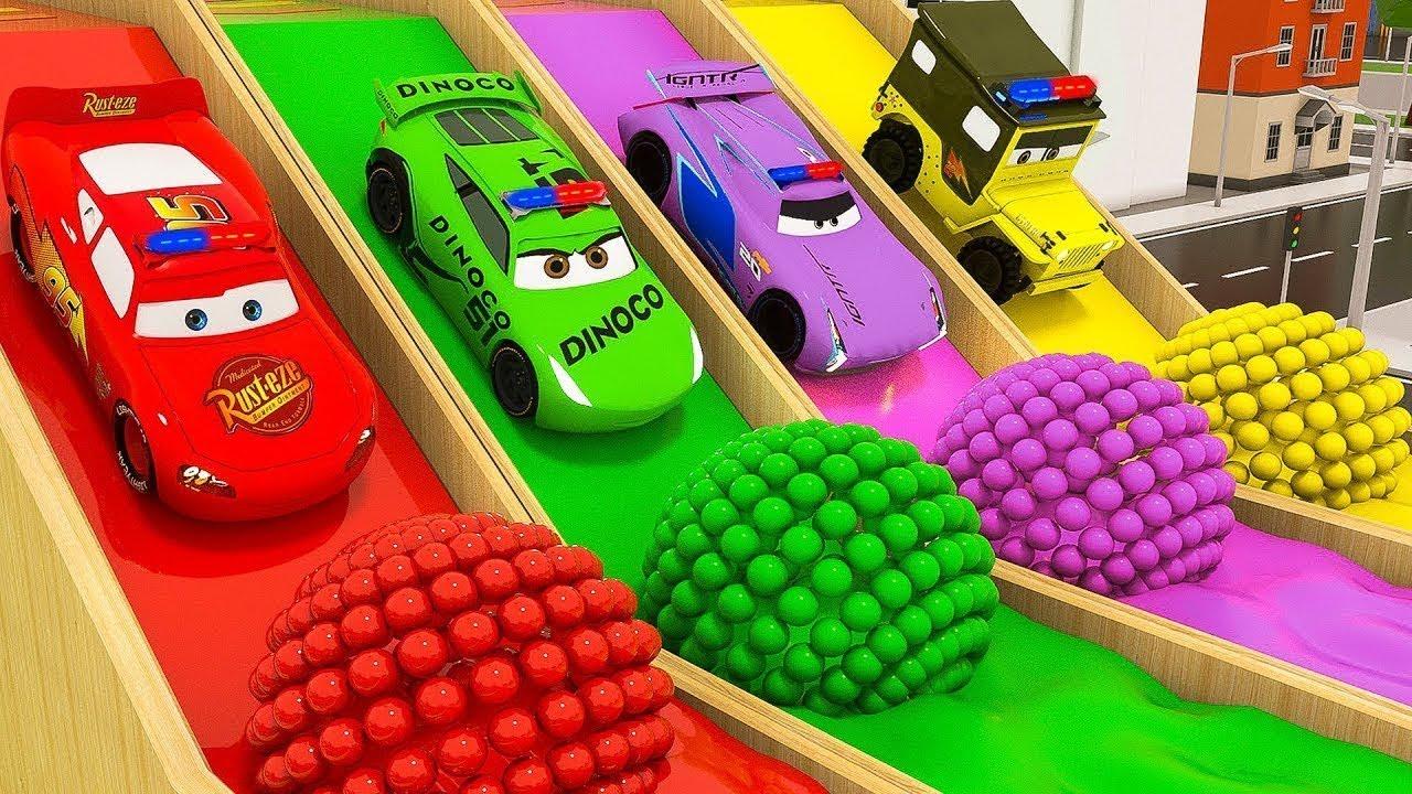 Download (Video Educativo) Aprende los colores con los juguetes para coches