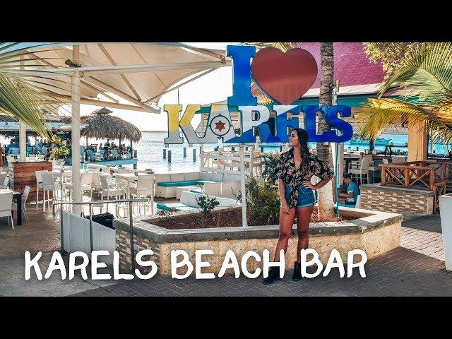 LEKKER CHILLEN OP DE PIER BIJ KAREL'S BEACH BAR!