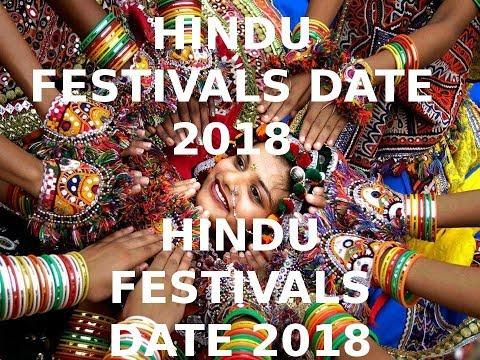 Hindu Calender 2018 II Hindu Festivals and Vrat Dates 2018 II
