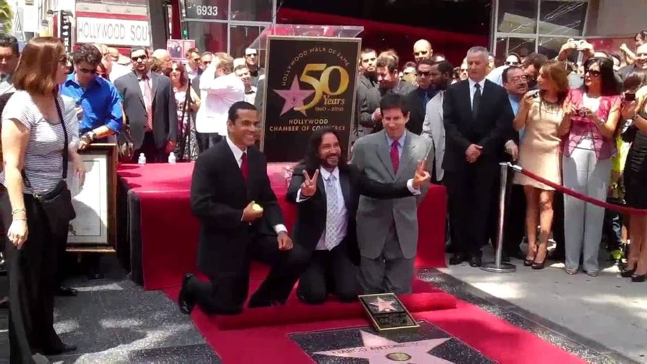Marco Antonio Solis unveils star on Hollywood Walk of Fame - YouTube