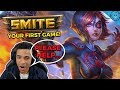 A 2000 HOUR SMITE PLAYER...TEACHES YOU SMITE! | HOW TO PLAY YOUR FIRST GAME! (NEITH Season 6)