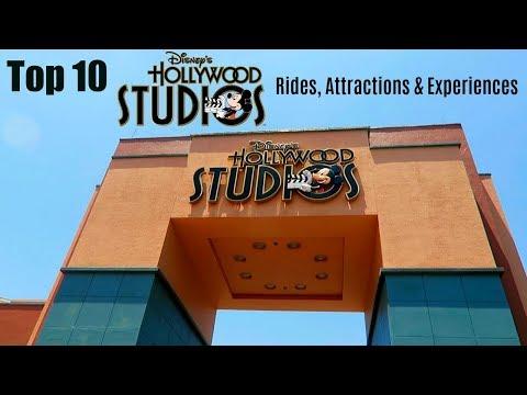TOP 10 Disney's Hollywood Studios rides and experiences | Walt Disney World 2017