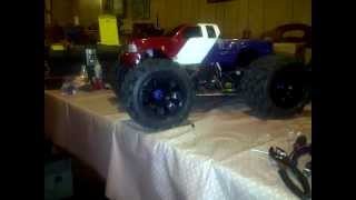 monster pirate e brushless edition hub extender mod to fit the big joe tires mamba monster app