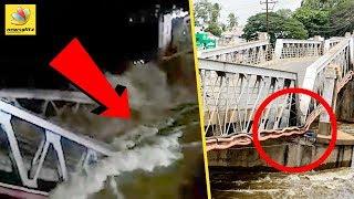 90-year-old Kollidam bridge collapse
