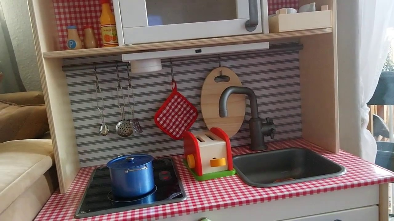 Basteltipp Ikea Duktig Kinderküche Gepimpt Youtube