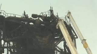 🇸🇦 صور لمصنع #أرامكو في خريص تظهر آثار الدمار الناتج عن الهجوم