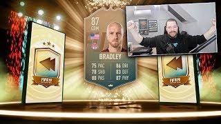 INSANE CHEAP 87 FLASHBACK BRADLEY! - FIFA 19 Ultimate Team