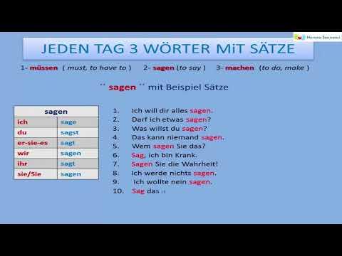 Deutsche Wortschatz | Wiederholung Erste 10 Video |
