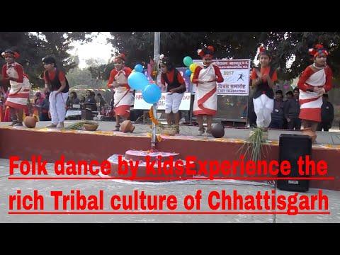Folk dance by kids/ Experience the rich tribal culture of Chhattisgarh/ K V Berhampore / K & E ECHO