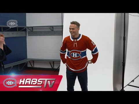 Max Domi tours the Montreal area