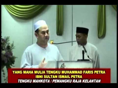 Sultan Kelantan Al Sultan Muhammad ke-V Sultan di kasihi