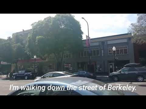 men-chan vlog! Travel around the U.S. Walking around downtown of Berkeley.