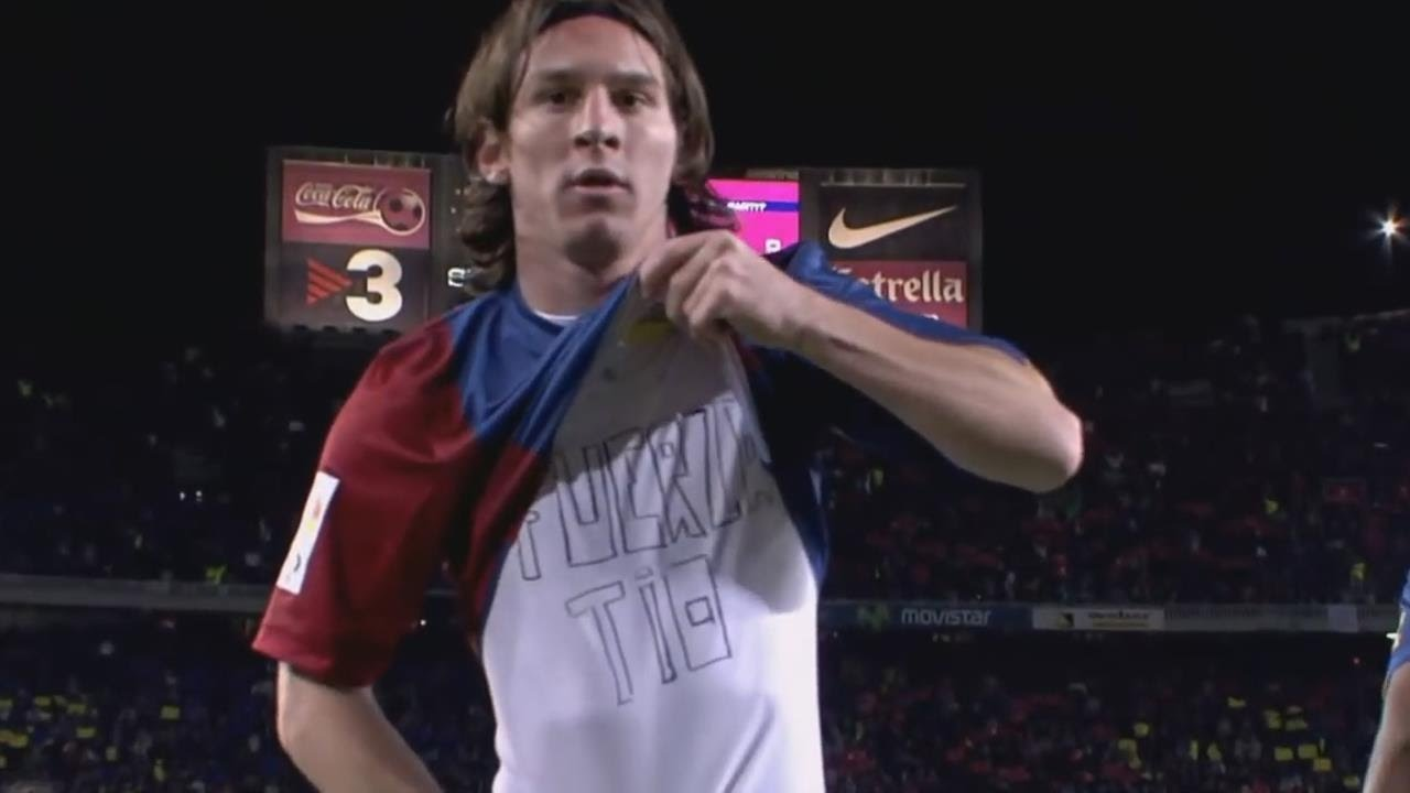 buy popular 6bd27 94576 Lionel Messi vs Real Madrid 2007 ● The Rise of a Messiah ► Barcelona 3-3  Madrid | HD