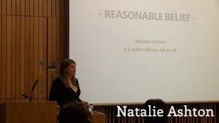 Philosophy Think Tank 2014: Natalie Ashton Thumbnail