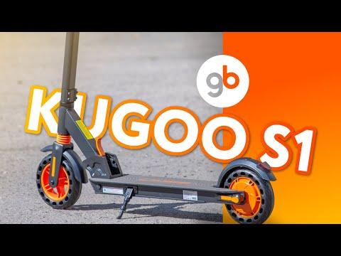KUGOO S1 - обзор легкого, красивого и качественного электросамоката для девушек и подростков.