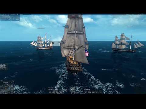 Naval Action #002: 3rd rate fleet battle