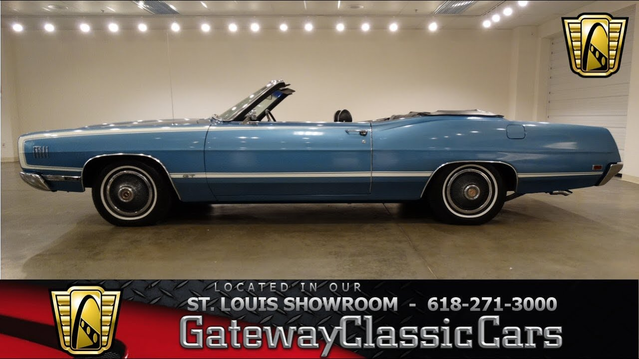 1969 ford galaxie 500xl gt gateway classic cars st. Black Bedroom Furniture Sets. Home Design Ideas