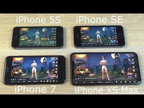 ТЕСТ PUBG НА АЙФОНАХ! IPhone 5S, SE, 7, Xs Max