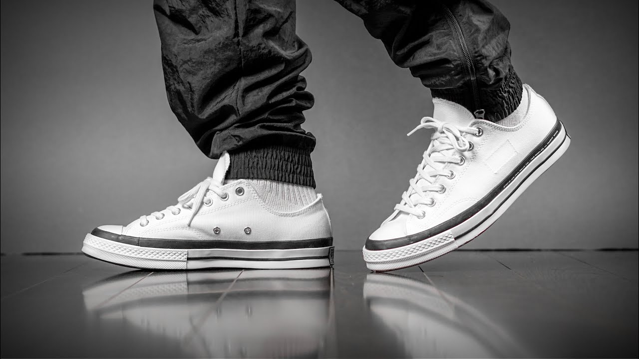Converse X Fragment Chuck Low On Feet
