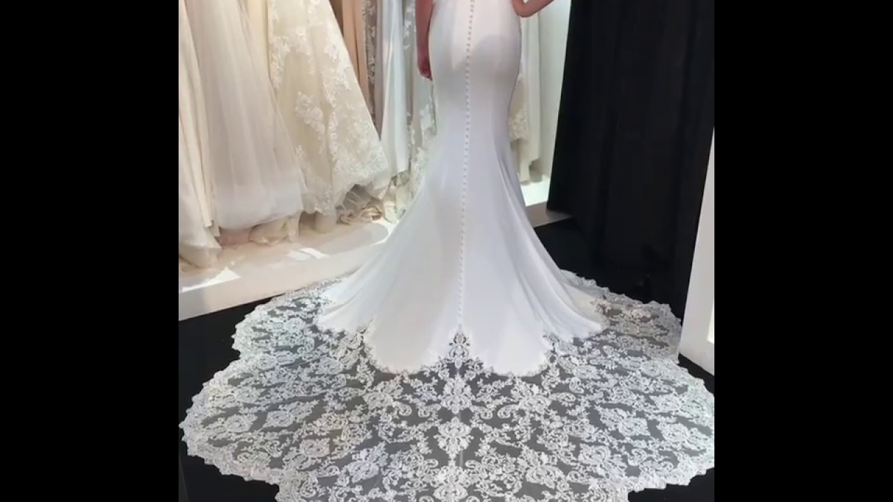 0b9e948ec6b 2018 Enzoani Collection at Interbride - Marley Gown - YouTube