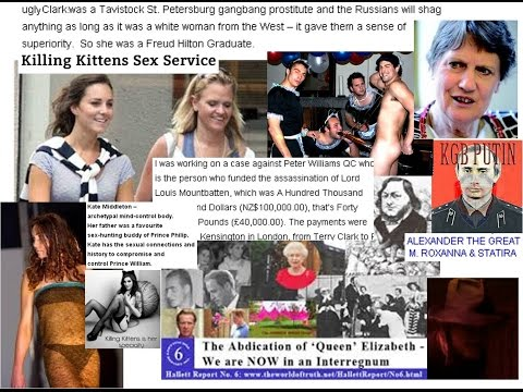Hallett 6b Commoner Kate Coerces Wills Killing Kittens sex club & UK NZ laws of succession frauds &