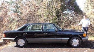 Обзор Mercedes S-Class за  $150 000... из 1991 года
