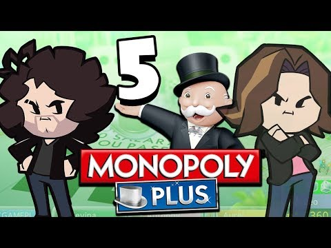 Monopoly Plus: Arin On The Ropes - PART 5 - Game Grumps VS |