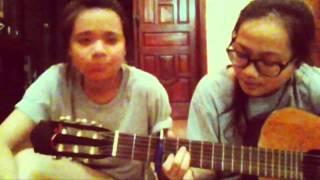 Chờ người nơi ấy ( cover acoustic by Ty & Nhim)