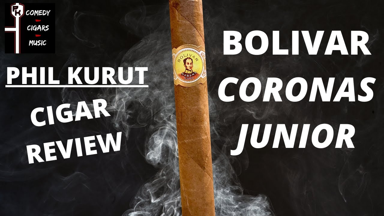 BOLIVAR CORONAS JUNIOR CIGAR REVIEW