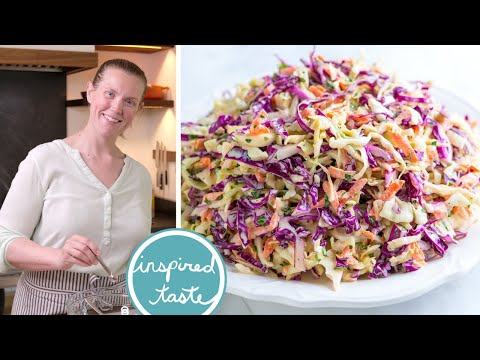 Featured Recipe Summer time Slim Coleslaw