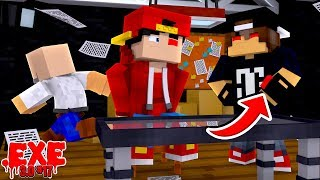 Minecraft .EXE 3.0 #17 - JACK FINDS OUT ABOUT THE FAKE EXE RED EYES!!