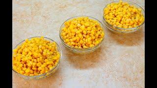 Готовьте Хоть Каждый День! 3 Вкусных салата из Обычной кукурузы / как похудеть мария мироневич