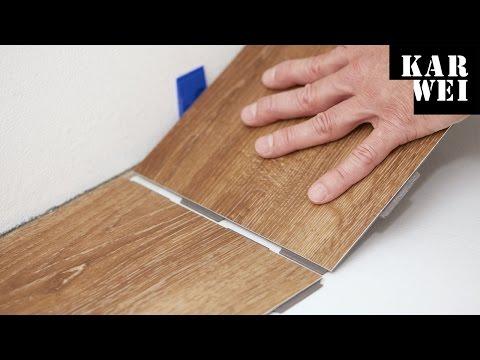 Hoe snij je een vinyl vloer quick step tutorial youtube