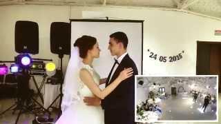 Первый танец молодых и работа оператора studiobravo.com.ua