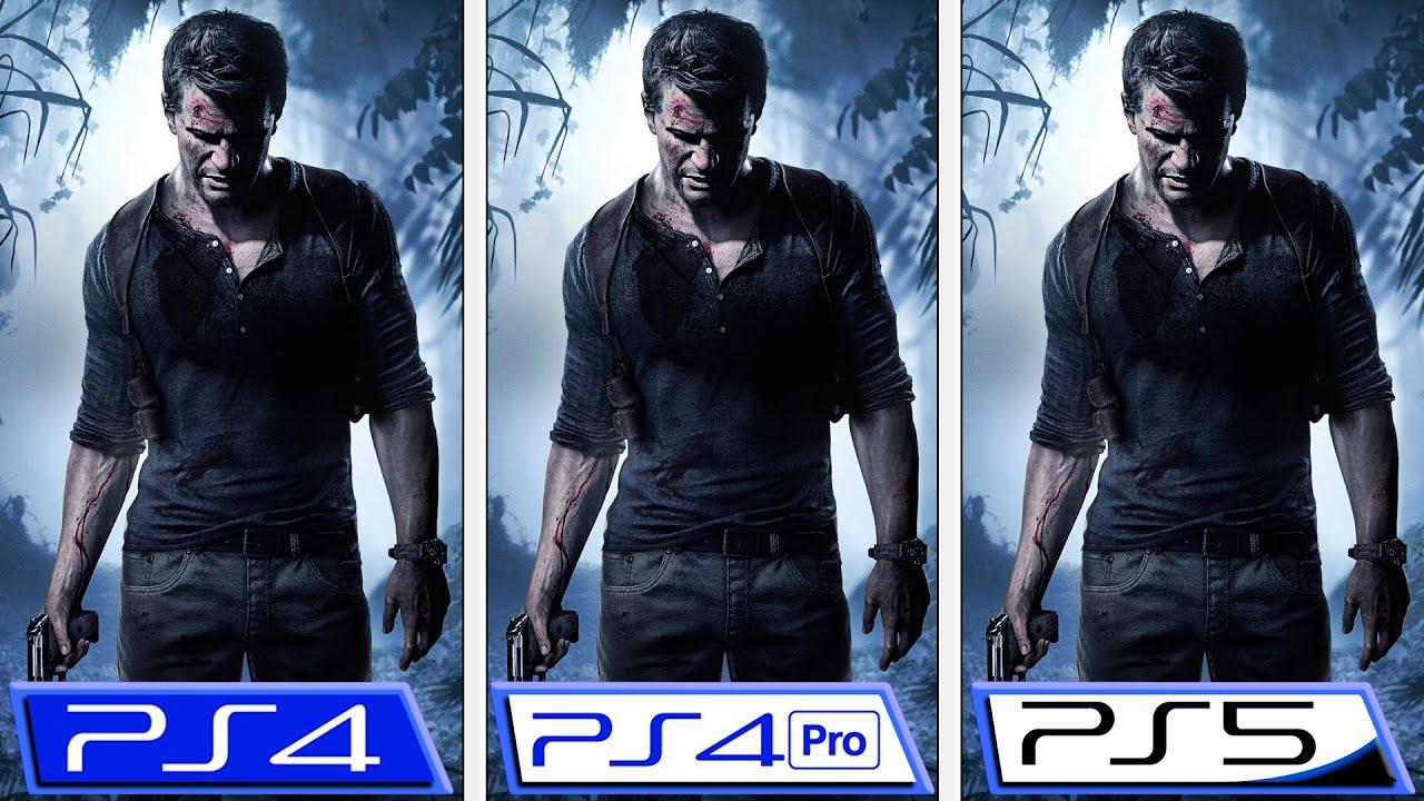 Uncharted 4 | PS5 - PS4 - PS4 Pro | Graphics & FPS Comparison